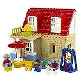 Unbekannt Colorbaby–Blocks Blöcke, Bau-Haus und Garten, 42Teile Set 42276