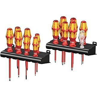 Wera 05105631001 Kraftform Big Pack 100 VDE- Juego de destornilladores, Set 14 Piezas