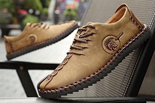 NSPX Scarpe casual Uomo Uomo Scarpe da indossare con scarpe da ginnastica Scarpe da passeggio / Scarpe sportive , 40 KHAKI-43