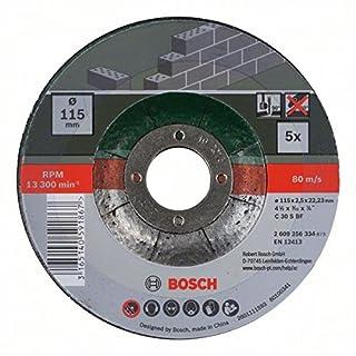 Bosch 2 609 256 334 - Juego de 5 discos de tronzar, acodado para piedra (B009RQ3CG2) | Amazon price tracker / tracking, Amazon price history charts, Amazon price watches, Amazon price drop alerts