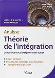 Analyse - Théorie de l'intégration