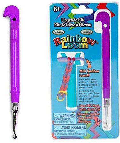 Assemble Rainbow Transperent Loom Tail Upgrade Kit - Metal Hook (Multicolor)