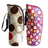 iSuperb® 2 Stück Baby Warmhaltebox Kühltasche Babyflasche Thermotasche Isoliertasche Tasche für...