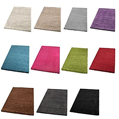 Shaggy Carpet High Pile Long Pile Rug Living Room PREISHAMMER in one. Customise Your Can Colour. - inexpensive UK light shop.