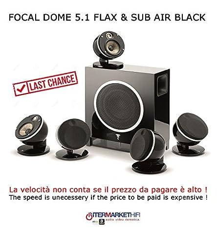 Focal DOME 5.1Flax & SUB Air Black