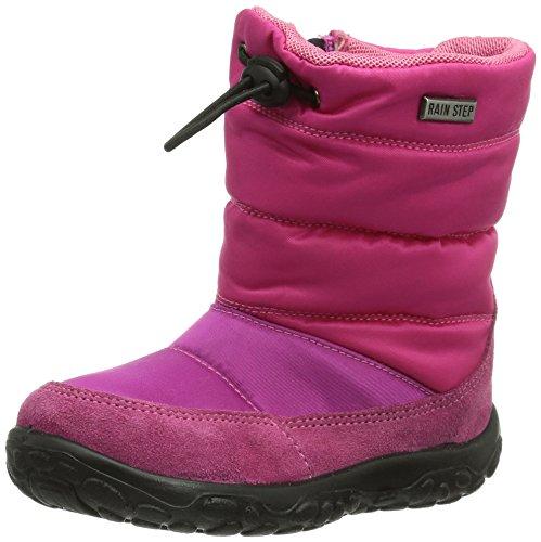 NaturinoNATURINO POZNURR - Pantofole primi passi Bimba 0-24 , (Fuxia (FUXIA)), 25 EU