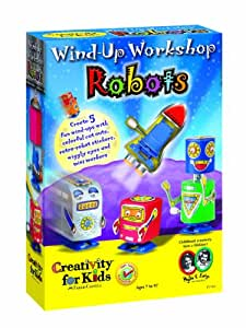 Creativity For Kids Wind Up Workshop Robots