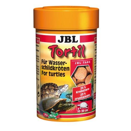 JBL 70301 Futtertabletten für Wasserschildkröten, Tortil, 100 ml