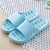 Qsy shoe Sommer Pantoffeln Haupt innen weich Dicke Kruste Paar Männer und Frauen Baden, hellblau, weiblich 36-37