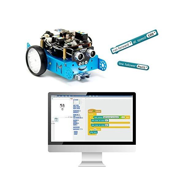 51W%2BN6QDlOL. SS600  - Makeblock - Robot Educativo MBOT, V1.1, Bluetooth