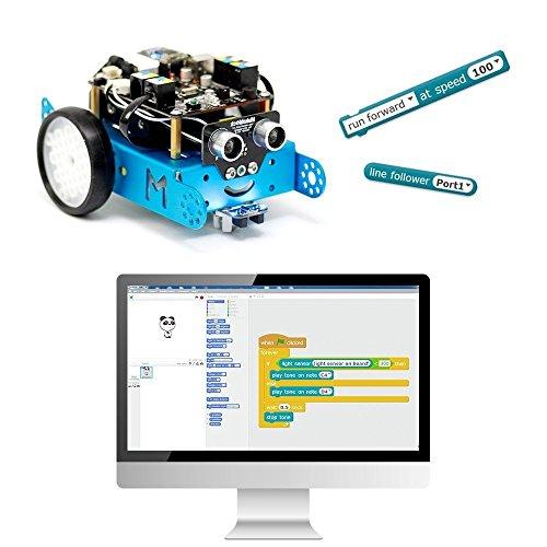 51W%2BN6QDlOL - Makeblock - Robot Educativo MBOT, V1.1, Bluetooth