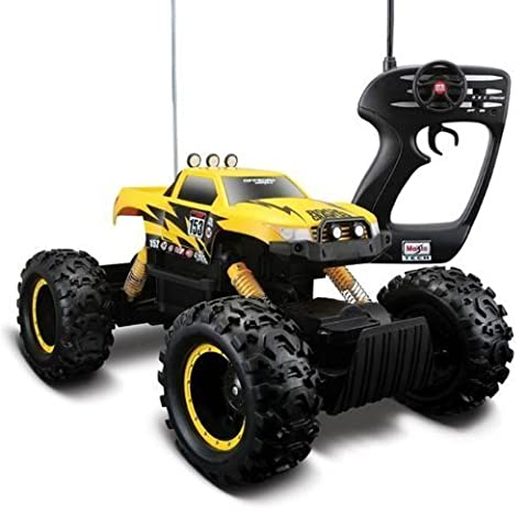 Yellow Color Maisto Remote Control Rock Crawler Off-Road Monster Truck by Maisto Tech by Maisto Tech