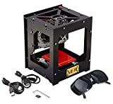 1000mw Mini DIY Laser Graveur Drucker Maschine drucken Logo Bild / Holz / Gummi / Leder