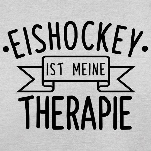 Eishockey ist meine Therapie - Herren T-Shirt - 13 Farben Hellgrau