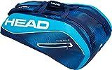 HEAD Tour Team Tennis Racket Bag, 9 Racket Supercombi, Navy/Blue
