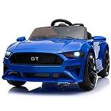 GT Raptor Cabriolet Elektro Kinderauto Ride-On 12V - 2X Motoren (Blau)
