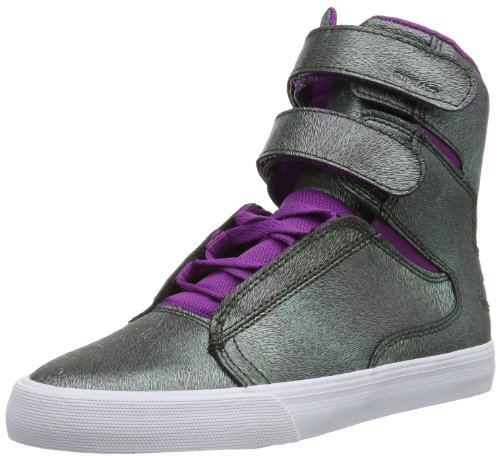 Supra WOMENS SOCIETY II SW34113 Damen Sneaker, Grün (PURPLE/GREEN - WHITE JKW),...