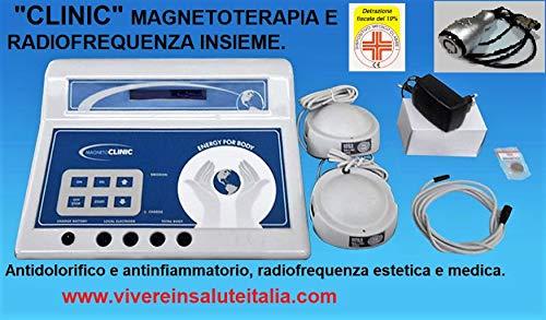 APARATO CLINICO PARA MAGNETOTERAPIA Y RADIOFRECUENCIA