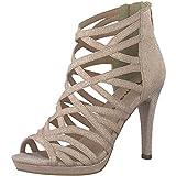 Tamaris 1-1-28014-20 Damen Sandale, Sandalette, Sommerschuhe für die modebewusste Frau rosa (Rose Glam), EU 36