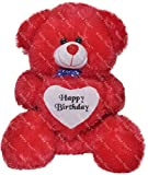 #10: Richy Toys 2 Feet Around With Birthday Heart Stuffed Soft Plush Toy Kids Teddy Bear (RED)
