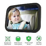 Specifiche:  Taglia: 30 × 19cm  Peso: circa 0.5kg  Grande area di visualizzazione  Lo specchio curvo e cristallino offre una vasta riflessione. Permette di vedere da vicino il proprio bambino in un sedile posteriore rivolto verso l'auto. Non...