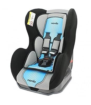 Autositz von 0bis 18kg mit Protektoren seitliche-Herstellung 100% Französische-3Sterne Test TCS-4Farben-CALE Kopf und Sitzfläche gepolstert