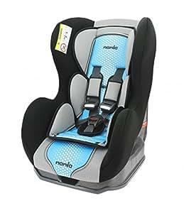 Autositz von 0bis 18kg mit Protektoren seitliche–Herstellung 100% Französische–3Sterne Test TCS–4Farben–CALE Kopf und Sitzfläche gepolstert