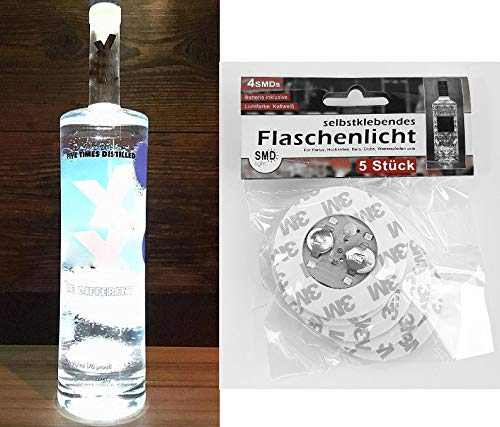Selbstklebendes-Flaschenlicht-5er-Set-mit-jeweils-4-SMD-LED-Flaschenbeleuchtung-zum-unter-die-Flasche-kleben-mit-3-Leuchtfunktionen-Das-Highlight-auf-jeder-Party