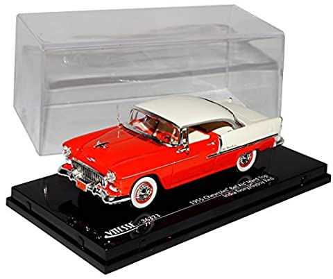 Chevrolet Chevy Bel Air Coupe Rot Weiss 1953-1957 1/43 Vitesse