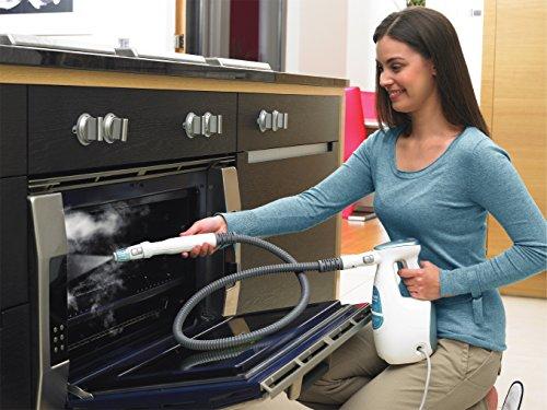 Black + Decker 1600W 15-in-1 Dampfbesen Steam-Mop deluxe, Duft-Reinigungsfuß, inklusive 15-teilig Zubehör, FSMH16151 - 4