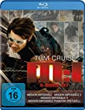 Mission: Impossible 1 - 4 [4 Blu-rays]