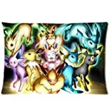 Setters Pokemon Pocket Monster Cute Eevee Personalized Home Decoration kissenbezug...
