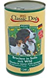 6er Pack Classic Dog Dose Wild 6x1240g
