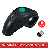 Alian Multifunktionale Neue Wireless 2.4G Air Mouse Handheld Thumb-Controlled Trackball Maus