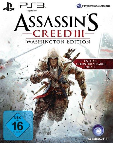 3 Playstation Assassins 2 Creed (Assassin´s Creed 3 - Washington Edition)