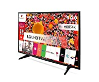 LG 43UJ630V 4K Ultra HD HDR Smart LED TV