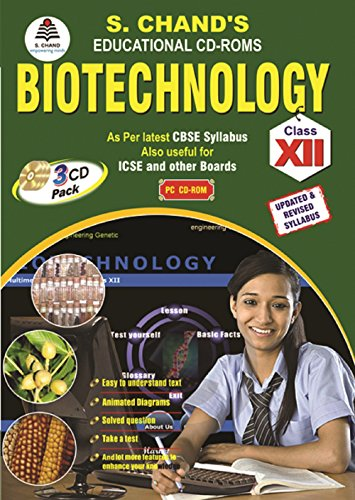 S.CHAND'S BIOTECHNOLOGY FOR CLASS-12