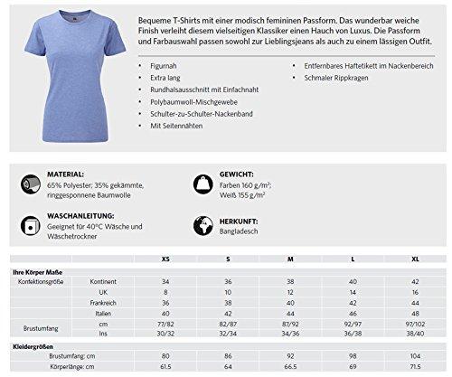Siviwonder Women T-Shirt BRIARD Berger de Brie Hunde pink marl