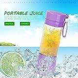Tragbare 380 ml USB Elektrische Saftpresse Handheld Smoothie Maker Mixer Wiederaufladbare Mini Portable Saft Tasse Wasserflasche