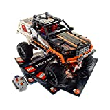 1 x Lego Technic Modell Set 9398 4x4 Crawler Electric Motor 9V Power Functions L grau rot geprüft mit BA incomplete unvollständig