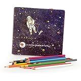 Egmont Toys 24 Astronaut Colouring Pencils in Metal Case