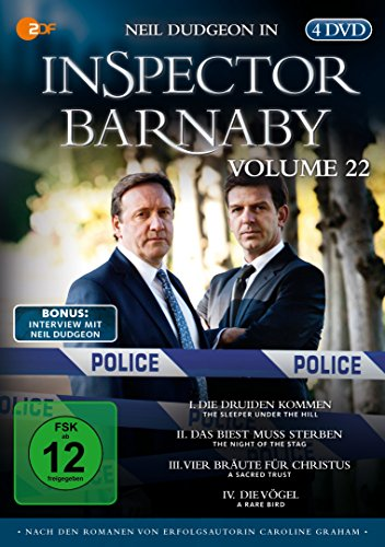 Inspector Barnaby, Vol. 22 [4 DVDs] -