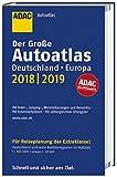 Großer ADAC Autoatlas 2018/2019, Deutschland 1:300 000, Europa 1:750 000 (ADAC Atlanten) -