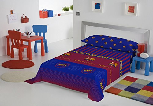 FC BARCELONA - Juego de sábanas infantil F.C. Barcelona