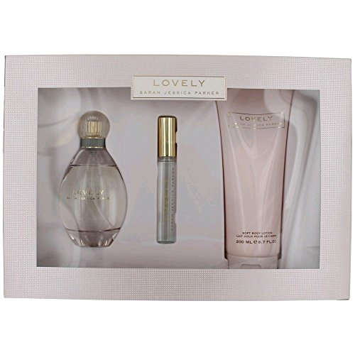 Sarah Jessica Parker Lovely Confezione Regalo 100ml EDP + 200ml Lozione Corpo + 10ml Roller Ball