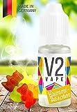 V2 Vape E-Liquid Gummibärchen - Luxury Liquid für E-Zigarette und E-Shisha Made in Germany aus natürlichen Zutaten 20ml 0mg nikotinfrei