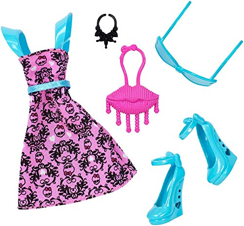 Monster High DNX60 - Mode, Kleider Set Draculaura (Kleid High Monster)