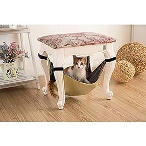 nopson katze h ngematte unter stuhl katze h ngematte decke. Black Bedroom Furniture Sets. Home Design Ideas