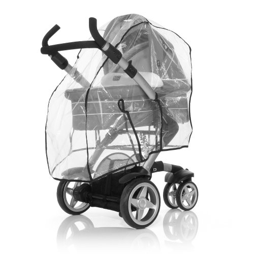 ABC Design 984100u00a0Plus Regenverdeck für Kinderwagen, Clear