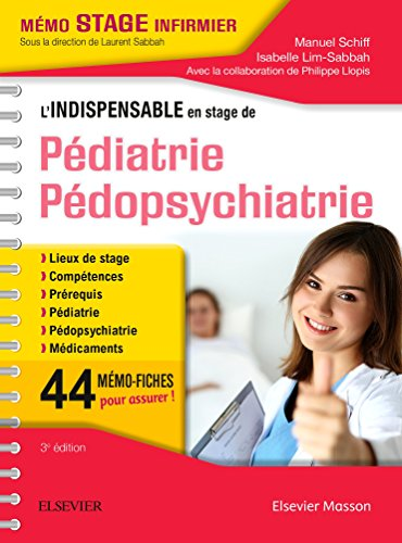 L'indispensable en stage de Pdiatrie - Pdopsychiatrie